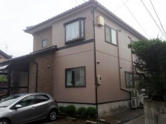 金沢市 N様邸 外壁・付帯塗装工事