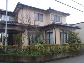 富山市 O様邸 外壁塗装工事・屋根棟瓦補修工事