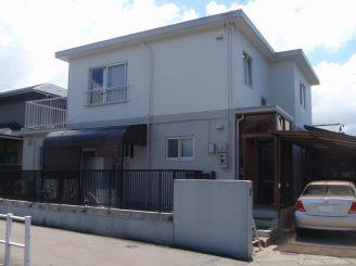 福井市 I様邸 屋上防水、外壁・付帯塗装工事