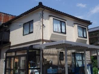 金沢市H町 T様邸 外壁・付帯塗装工事