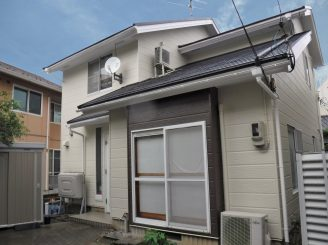 金沢市 D様邸 屋根・外壁・付帯塗装工事
