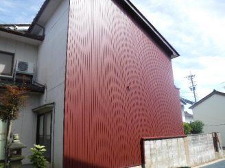 富山市 S様邸 外壁張替え工事
