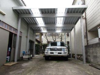 金沢市 Y様邸 カーポート設置工事